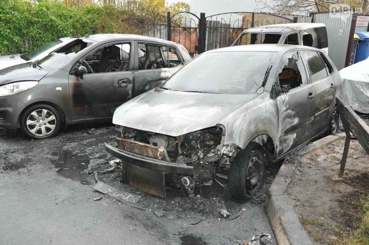 Последствия пожара на Рекордной в Одессе (ФОТО), фото-1
