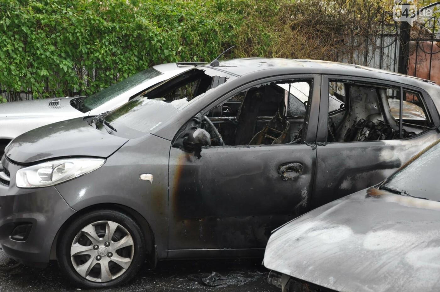 Последствия пожара на Рекордной в Одессе (ФОТО), фото-6