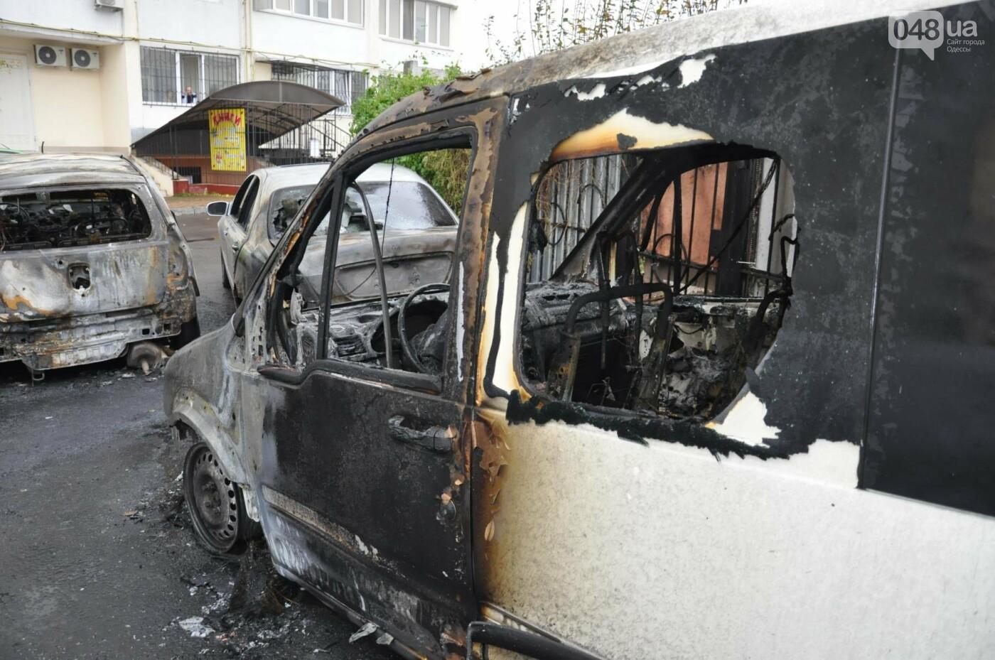Последствия пожара на Рекордной в Одессе (ФОТО), фото-7
