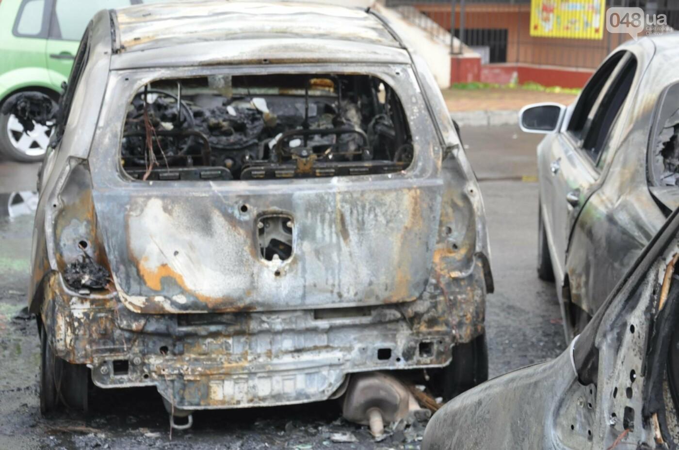 Последствия пожара на Рекордной в Одессе (ФОТО), фото-11