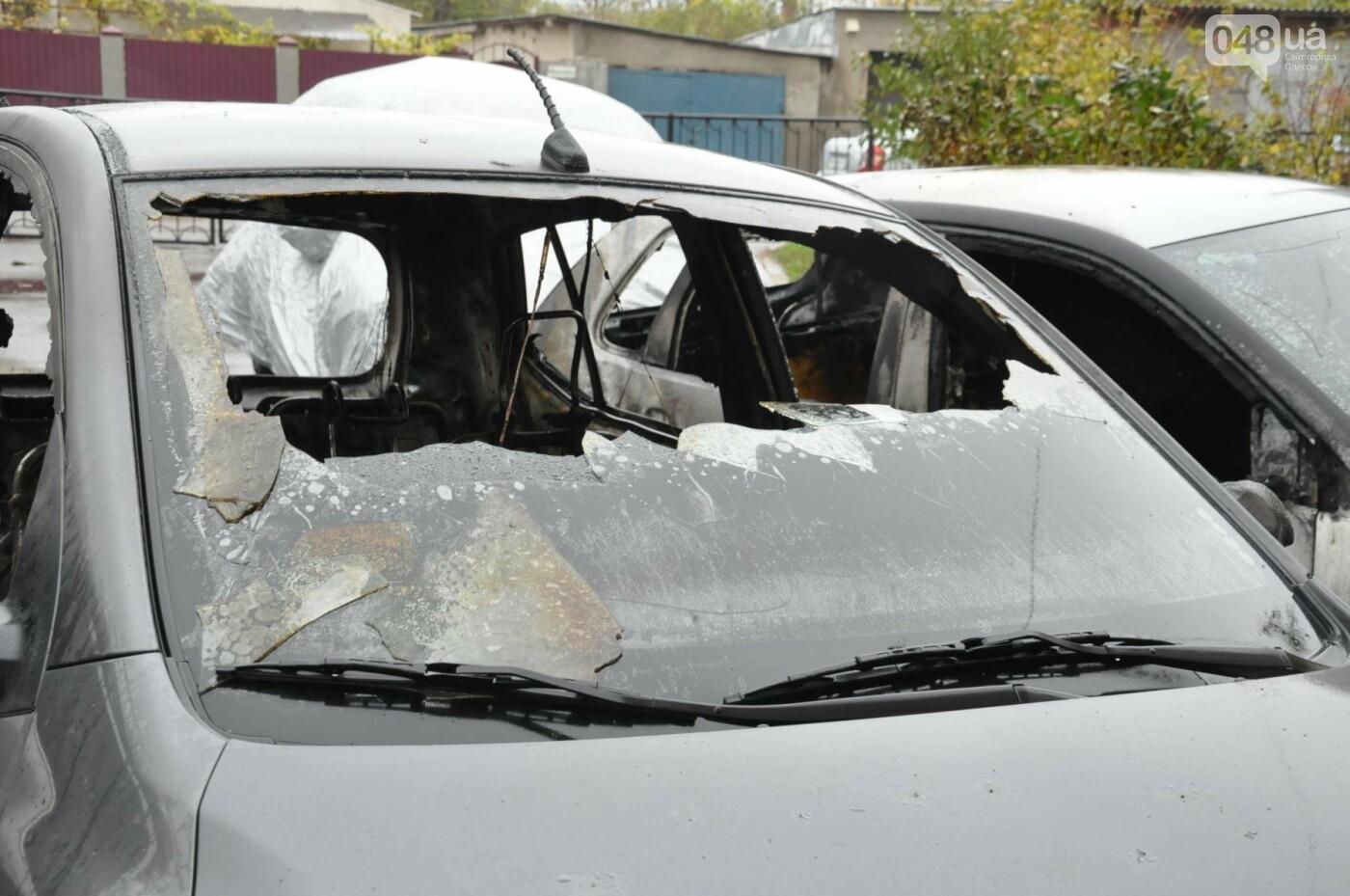 Последствия пожара на Рекордной в Одессе (ФОТО), фото-10