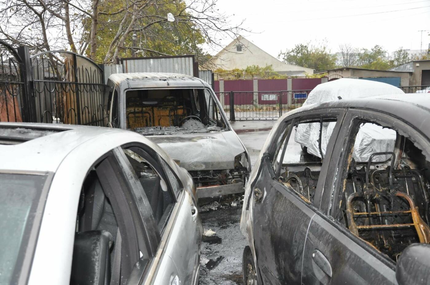 Последствия пожара на Рекордной в Одессе (ФОТО), фото-5