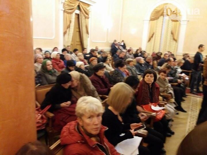 """В Одессе сессию горсовета проводят для """"титушек"""" и пенсионеров (ФОТО), фото-1"""