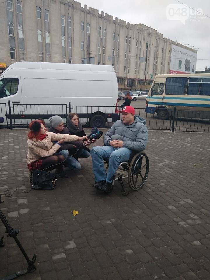 Общественники с инвалидностью проводят совместные рейды с одесской полицией (ФОТО) , фото-2