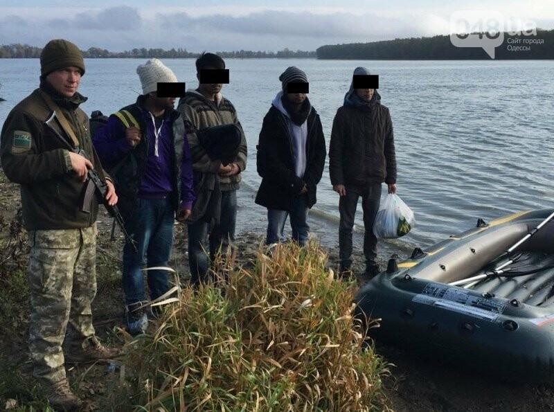 Житель Одесской области пытался переправить по Дунаю трех пакистанцев в Румынию (ФОТО), фото-2