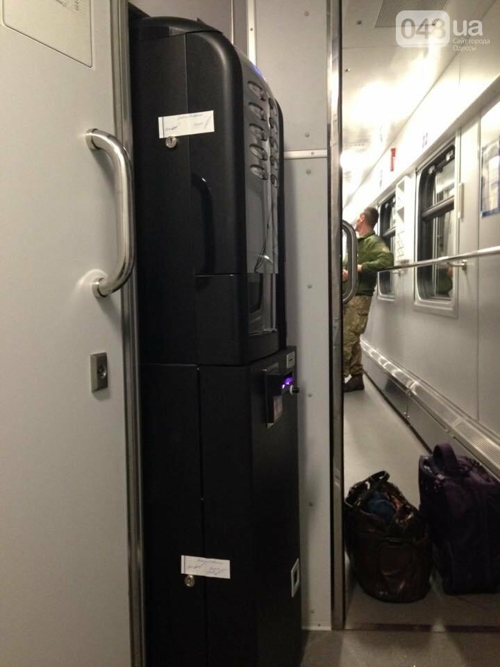 В одесском поезде появились кофемашины и пропали ковры (ФОТО), фото-2