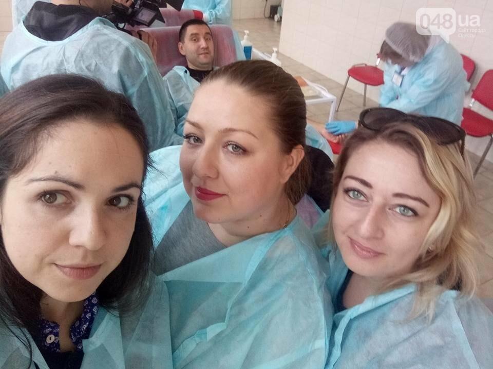В Одессе полицейские и журналисты сдали кровь для тяжело раненых (ФОТО) , фото-2