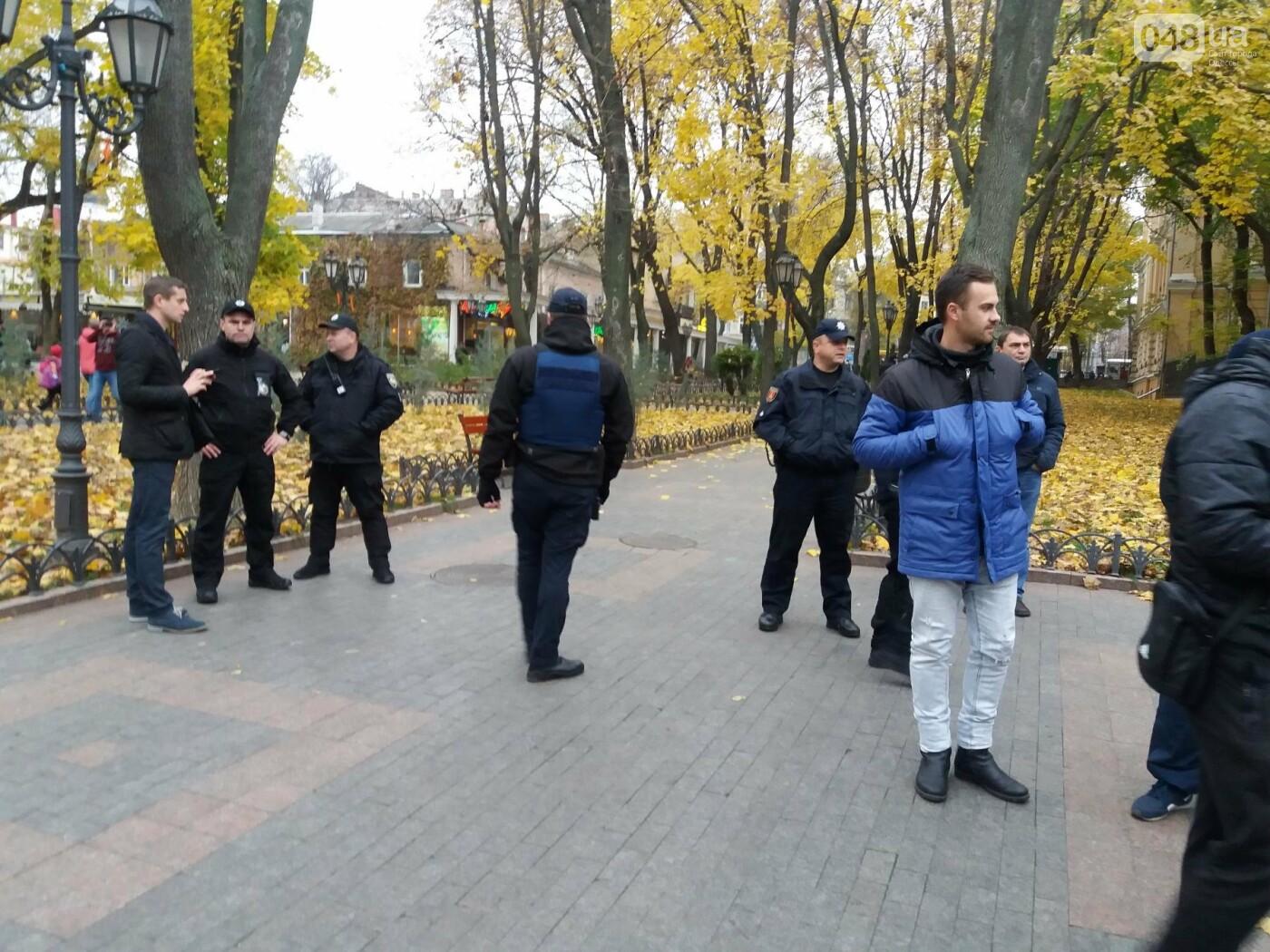 Одесские активисты штурмуют Горсад (ФОТО, ВИДЕО), фото-7