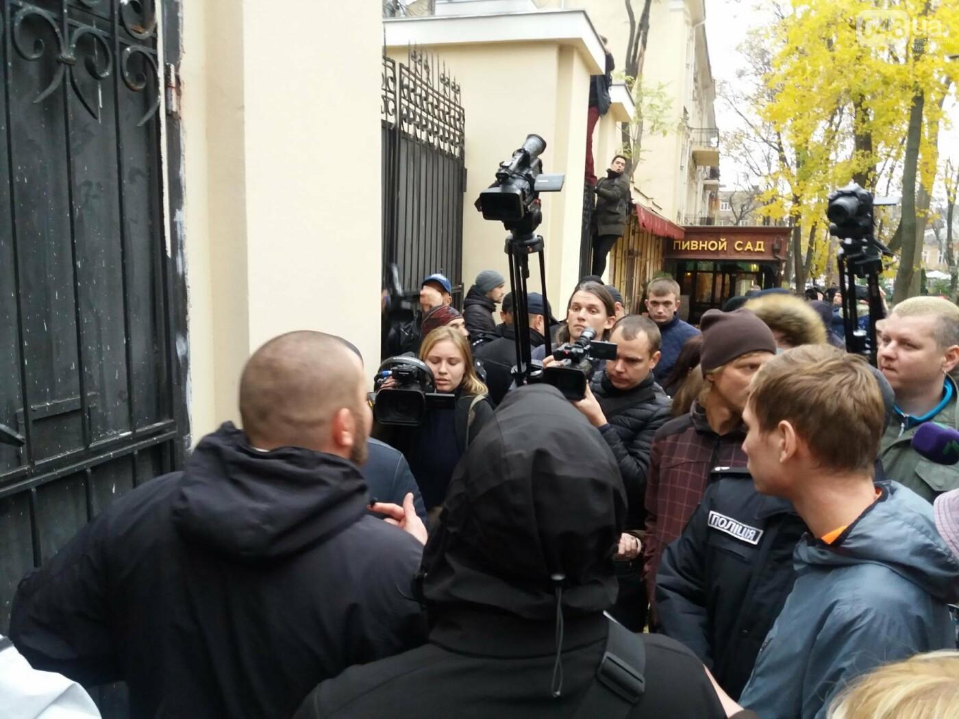 Одесские активисты штурмуют Горсад (ФОТО, ВИДЕО), фото-5
