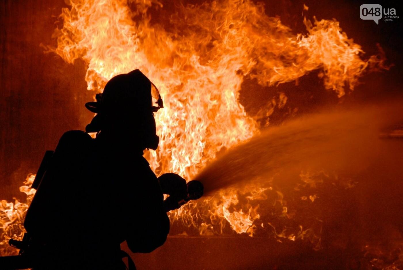 В подвале на одесской Лузановке сгорел человек, фото-1