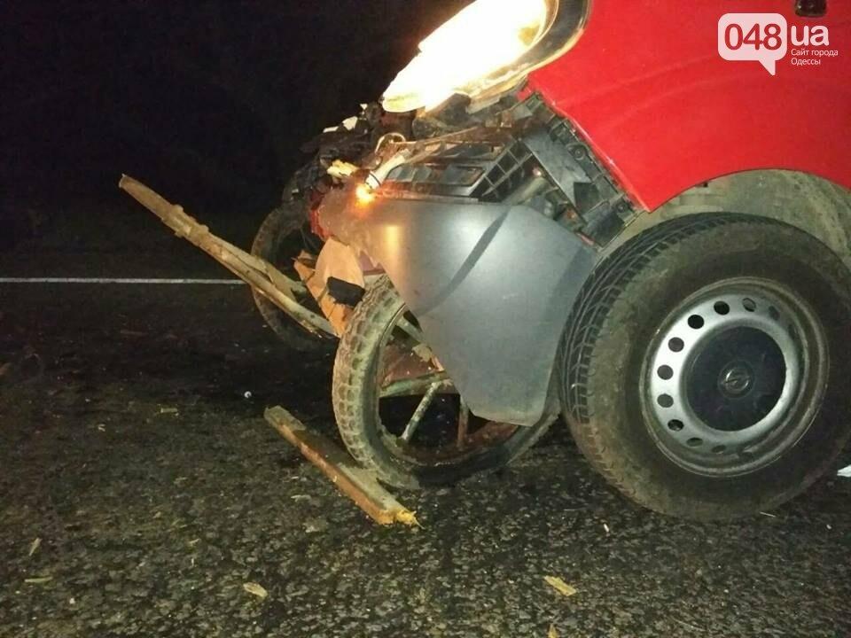 Одессит, который был на злополучной гужевой повозке, впал в кому (ФОТО), фото-1