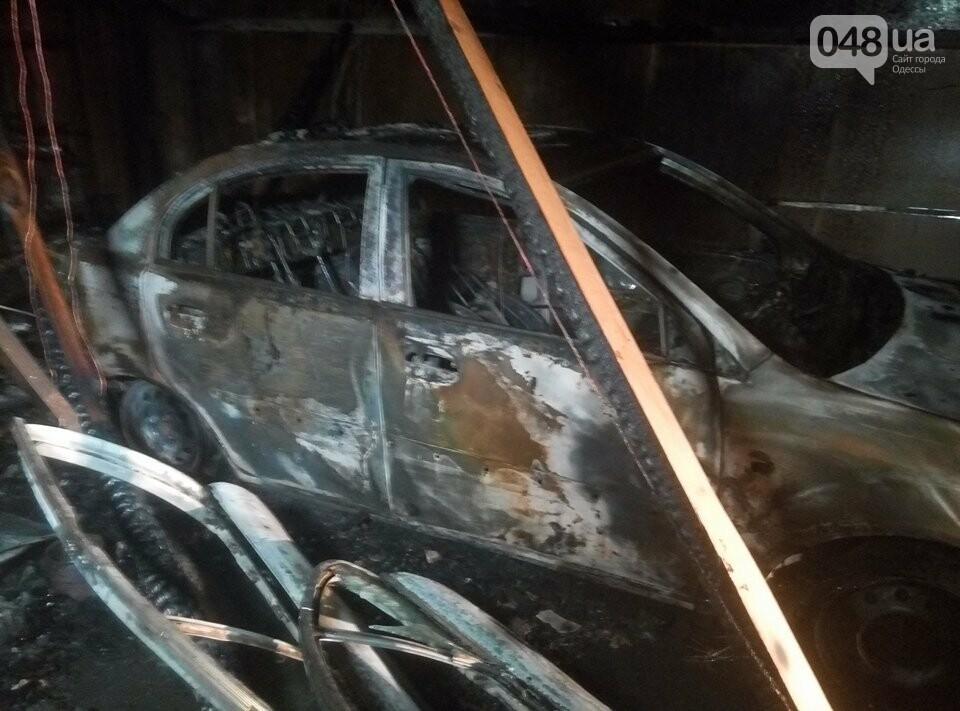В Одессе на пожаре в автосервисе погиб слесарь (ФОТО), фото-2
