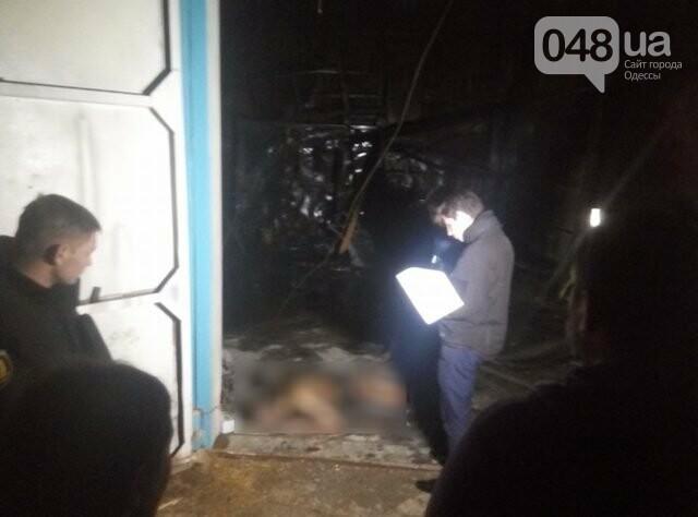 В Одессе на пожаре в автосервисе погиб слесарь (ФОТО), фото-4