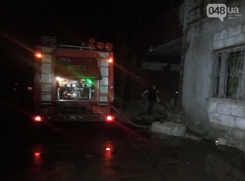 В Одессе на пожаре в автосервисе погиб слесарь (ФОТО), фото-6