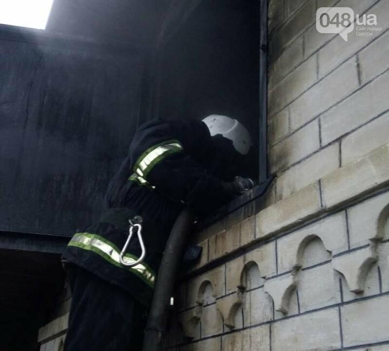 В Одесской области сгорела частная сауна, фото-1