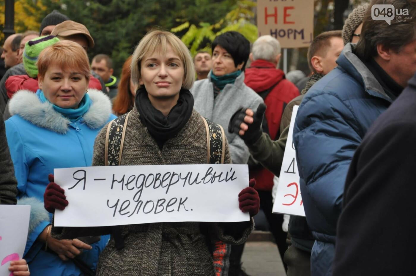 Около 5 сотен одесситов протестовали против застройки Горсада (ФОТО) , фото-9