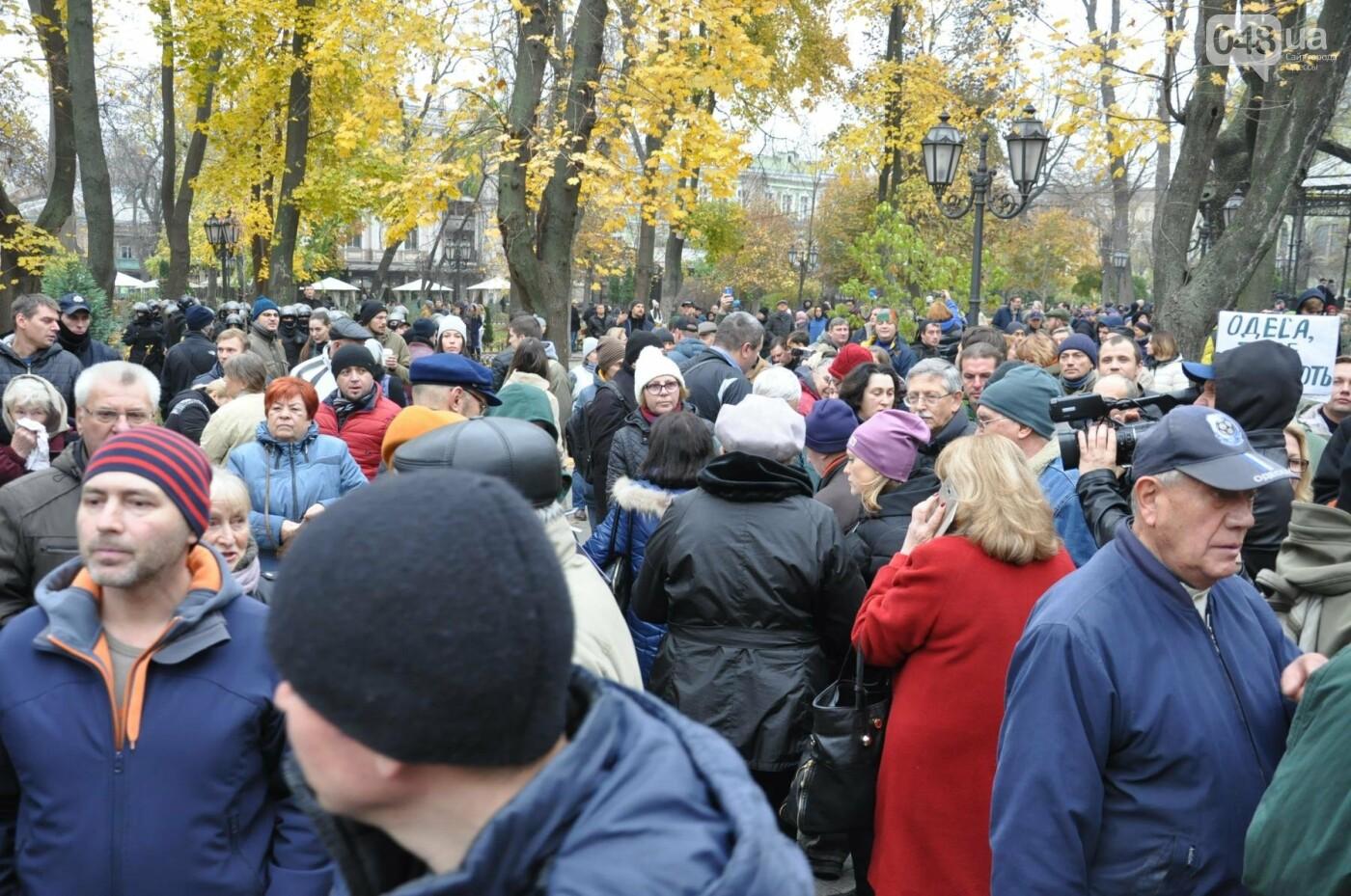 Около 5 сотен одесситов протестовали против застройки Горсада (ФОТО) , фото-24