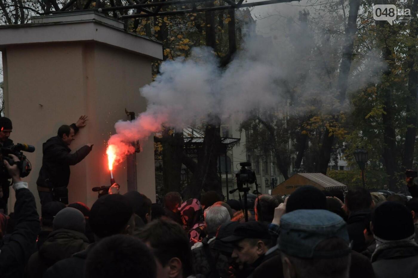 Около 5 сотен одесситов протестовали против застройки Горсада (ФОТО) , фото-15