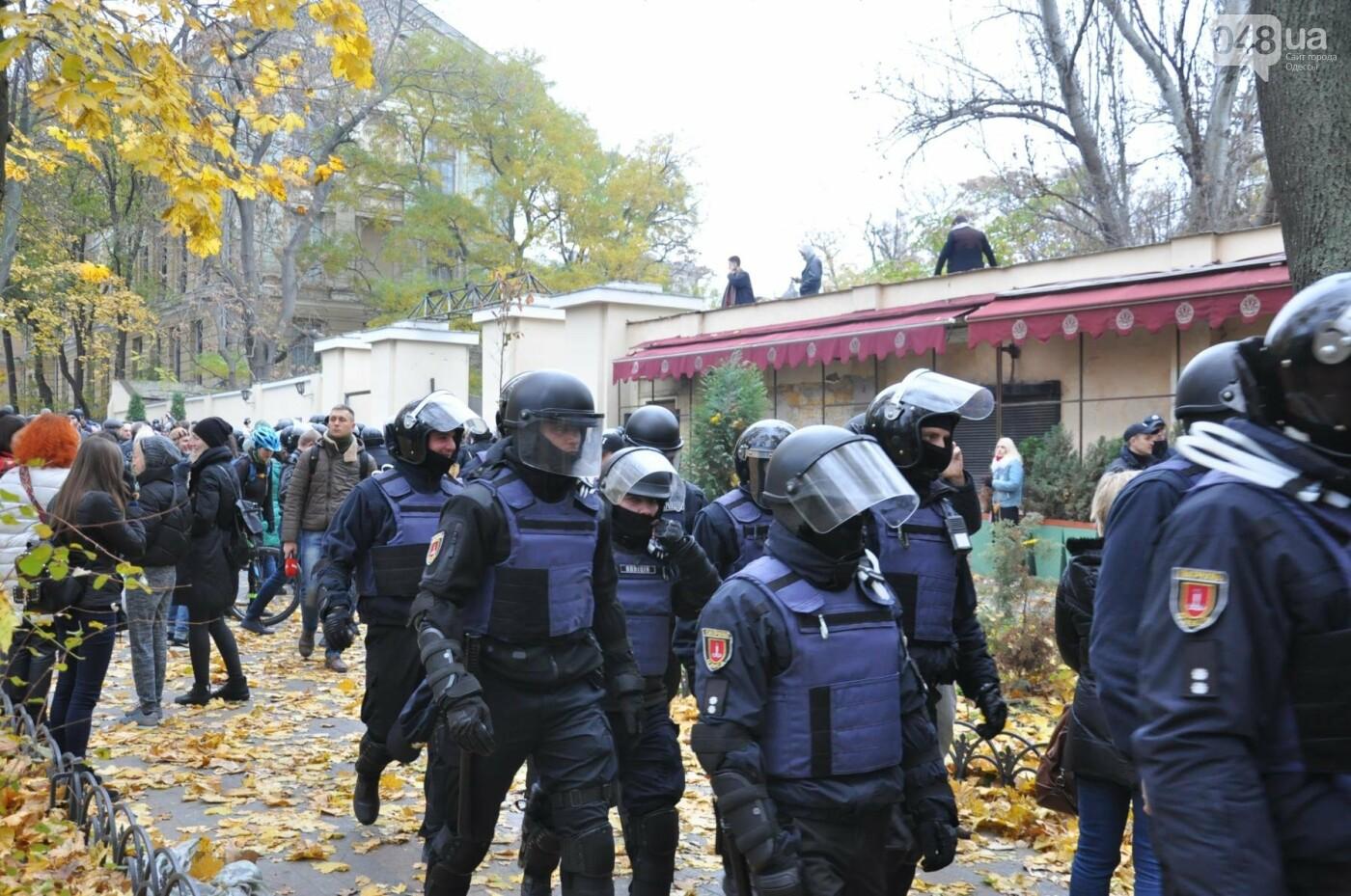 Одесситы обвинили полицию в провокациях (ФОТО, ВИДЕО), фото-4