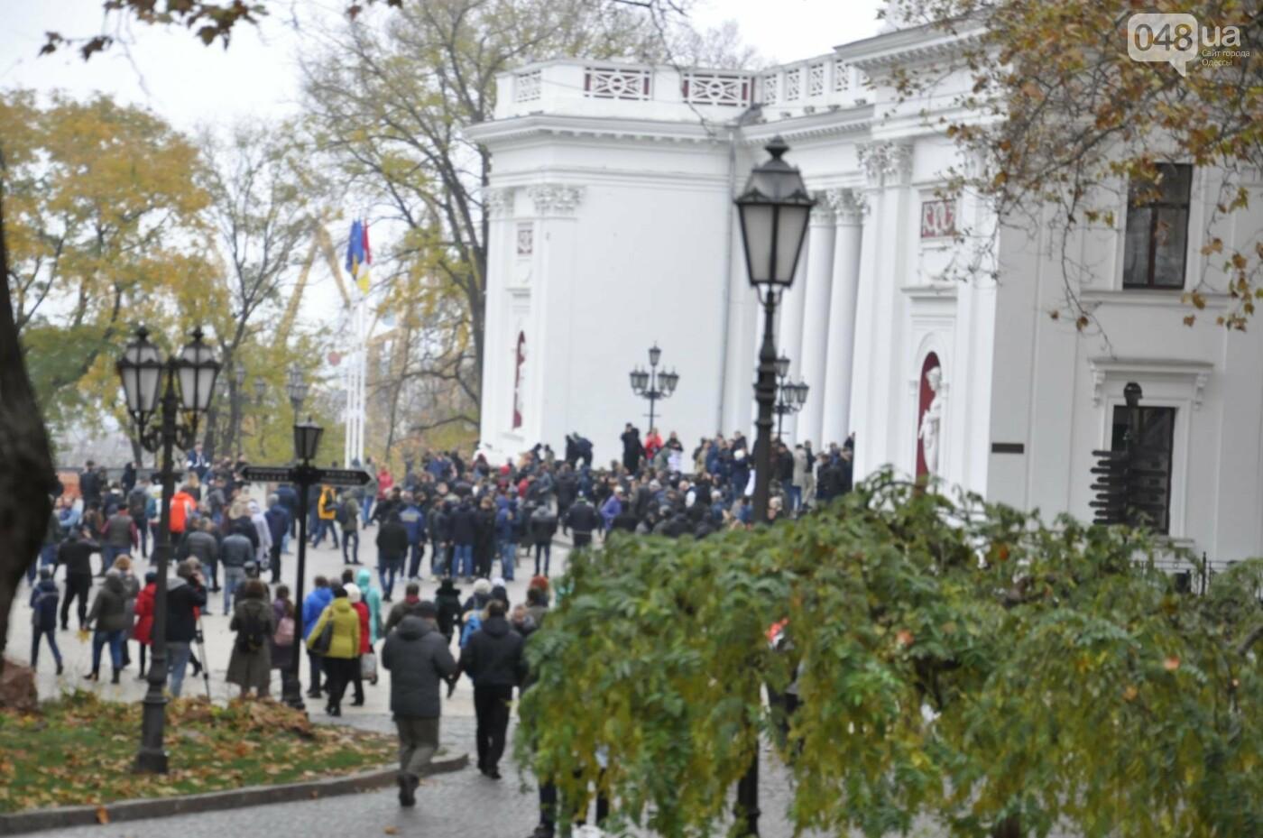 Мэрию Одессы основательно заблокировали: Как это было (ФОТО, ВИДЕО), фото-3