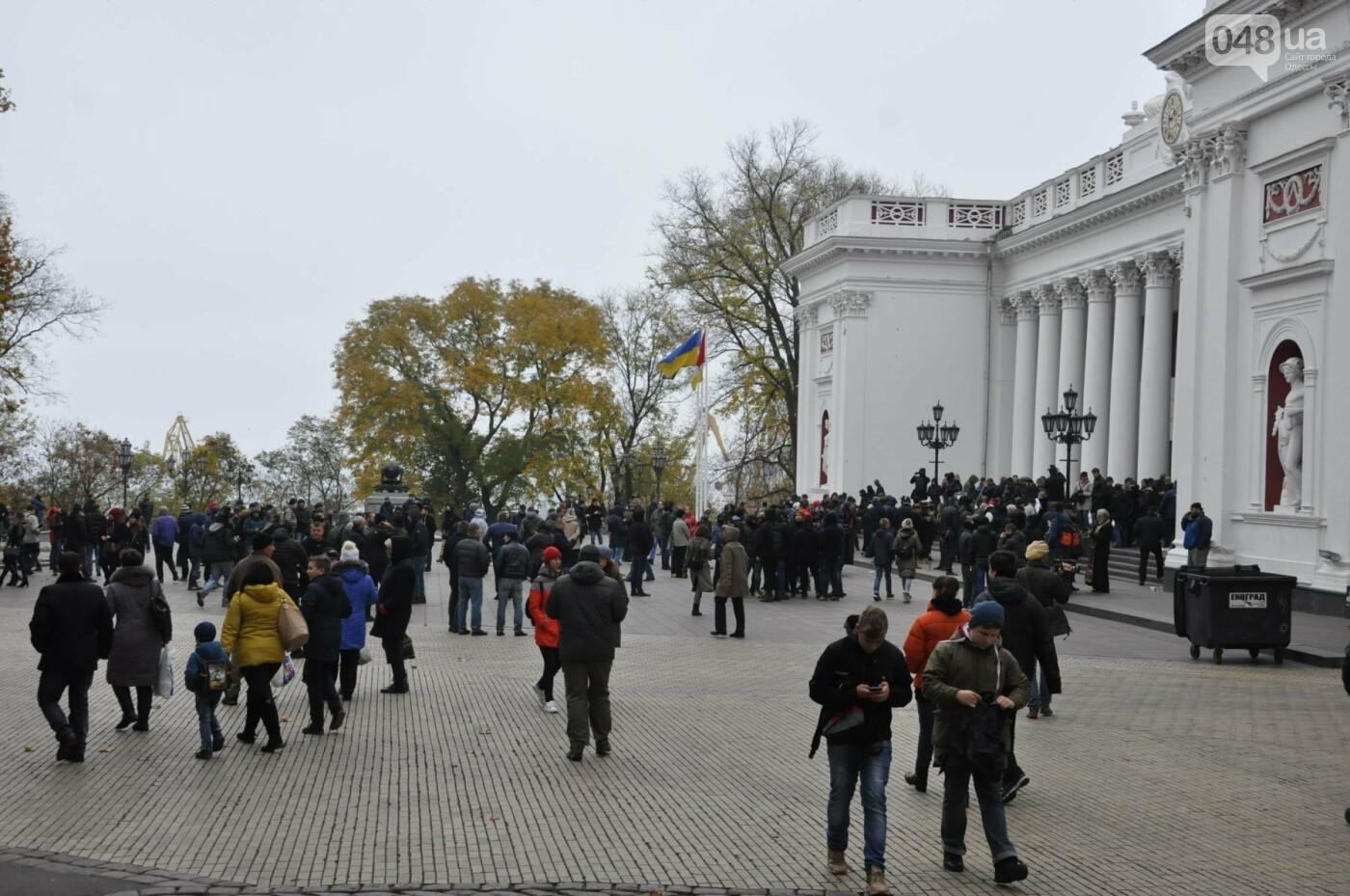 Мэрию Одессы основательно заблокировали: Как это было (ФОТО, ВИДЕО), фото-7