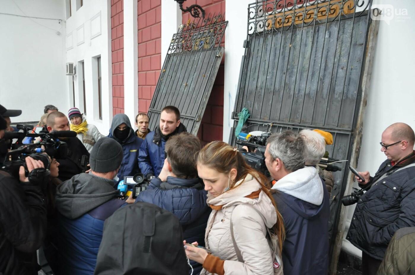 Мэрию Одессы основательно заблокировали: Как это было (ФОТО, ВИДЕО), фото-4