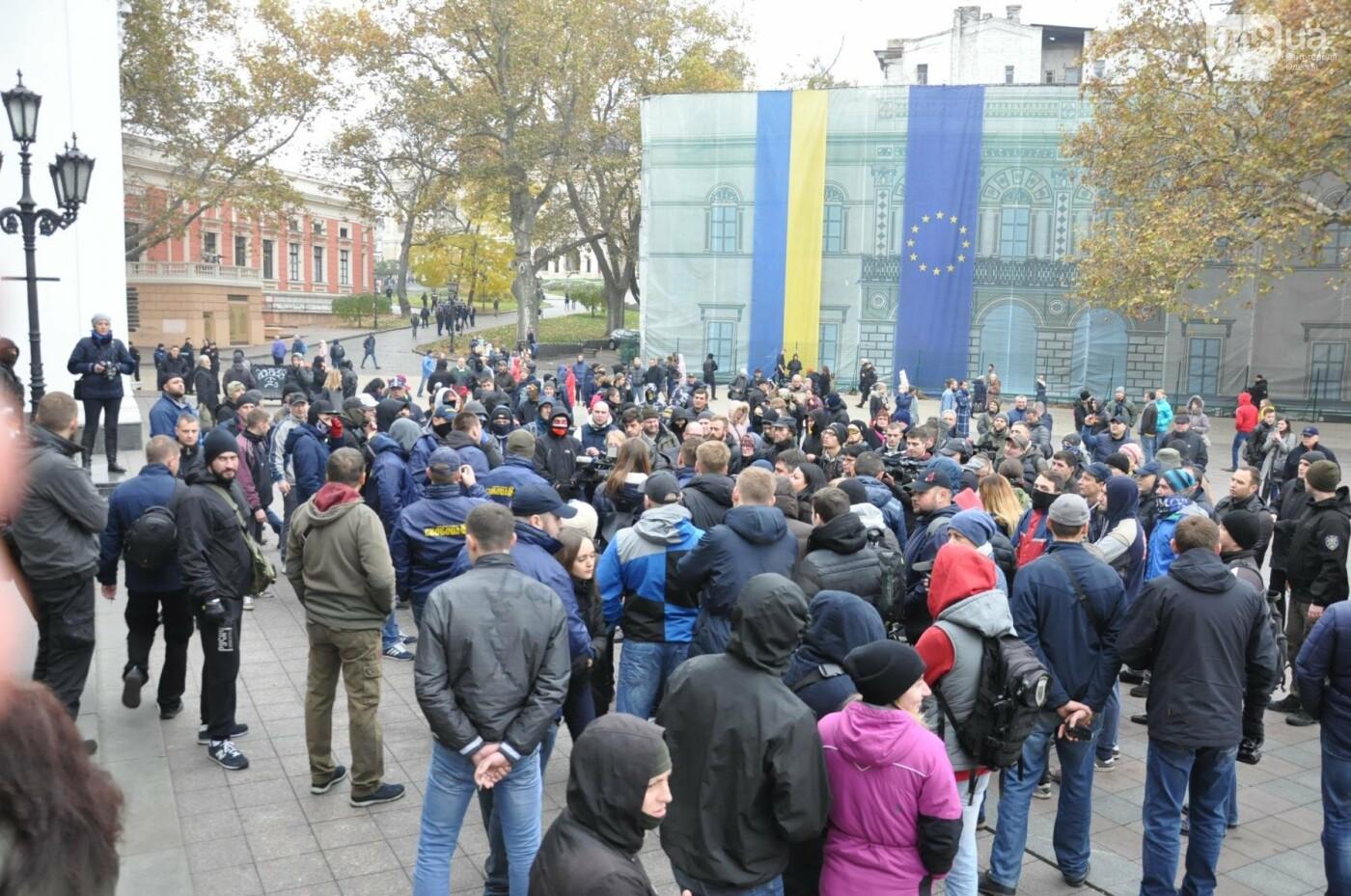 Мэрию Одессы основательно заблокировали: Как это было (ФОТО, ВИДЕО), фото-10
