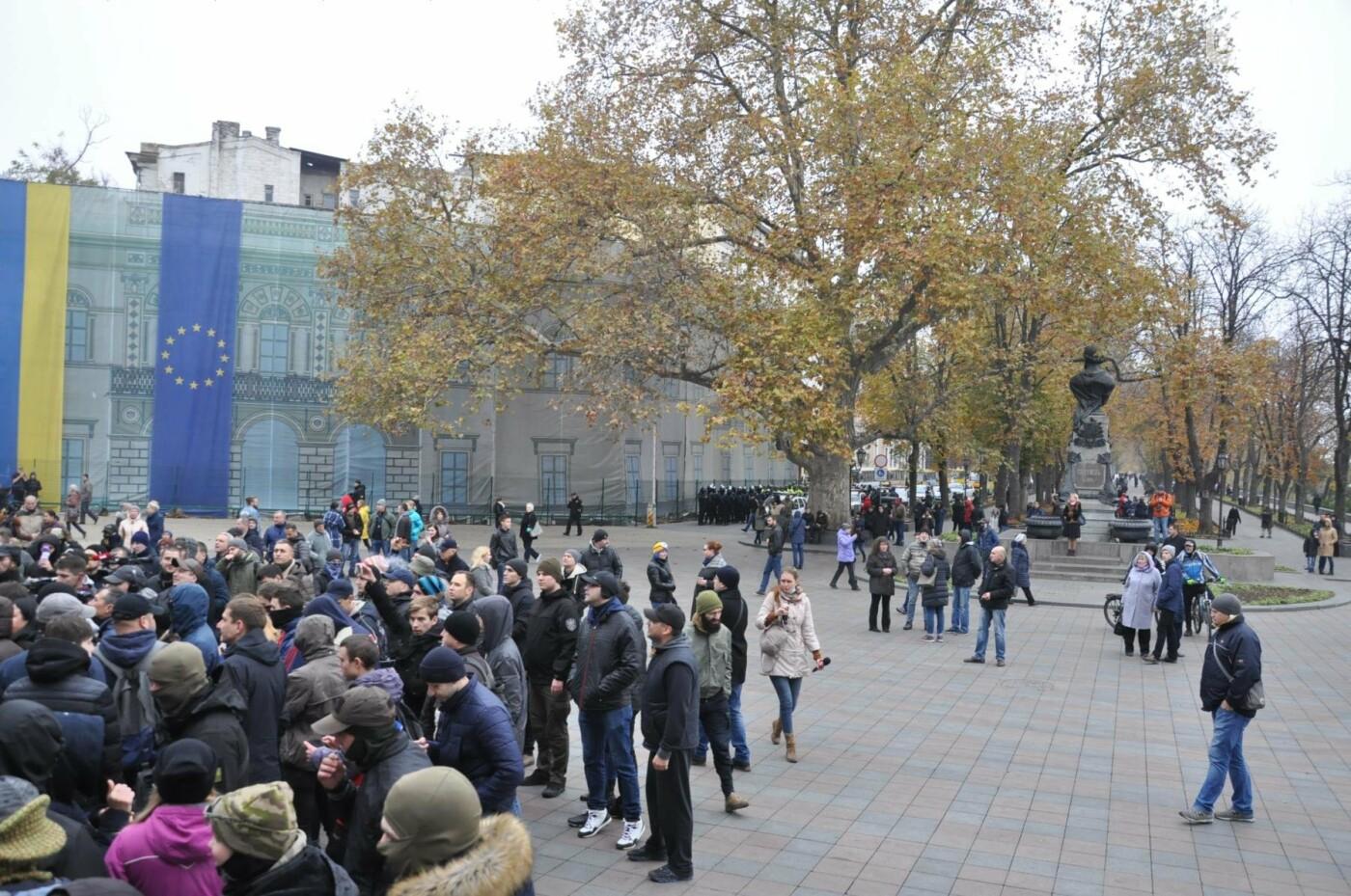 Мэрию Одессы основательно заблокировали: Как это было (ФОТО, ВИДЕО), фото-11