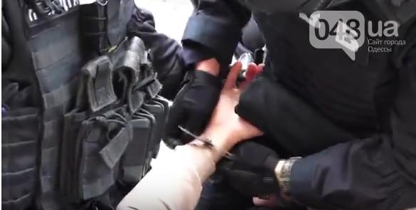 В полиции показали всё задержание в Одессе банды и чиновников (ВИДЕО), фото-1