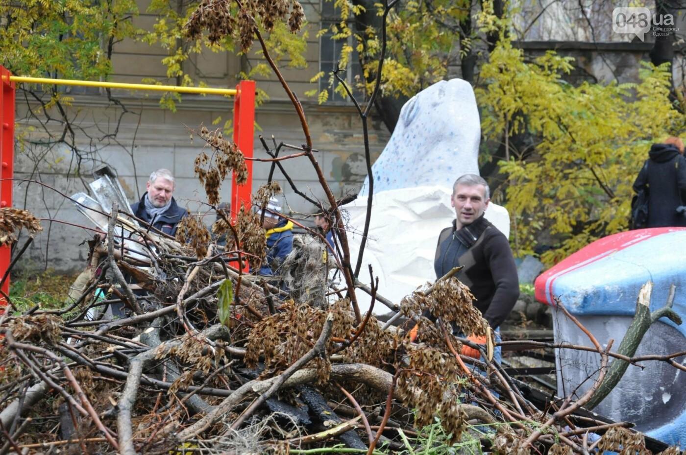 Активисты навели порядок в одесском Летнем театре (ФОТО), фото-12