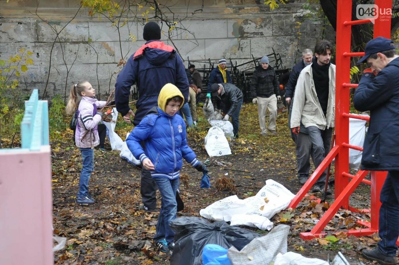 Активисты навели порядок в одесском Летнем театре (ФОТО), фото-24