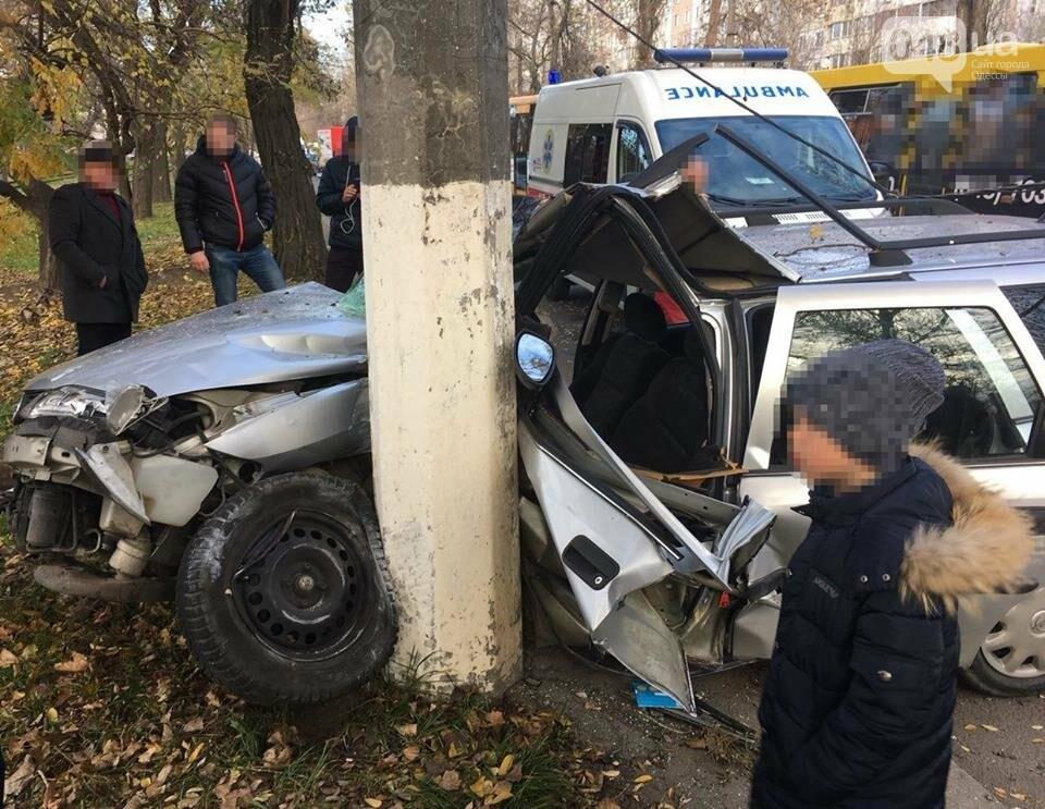 Куча мала: Авария на Котовского в Одессе обросла скандальными подробностями, фото-1