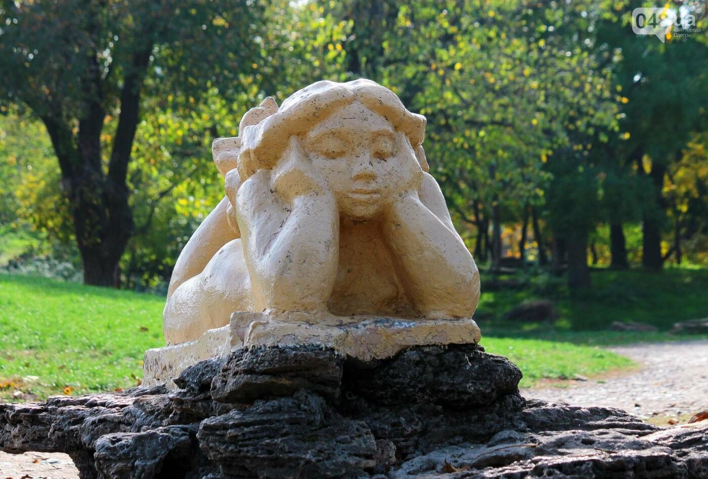 Мистика дендропарка Победы: как одесситам погадать на скульптурах (ФОТОРЕПОРТАЖ) , фото-12