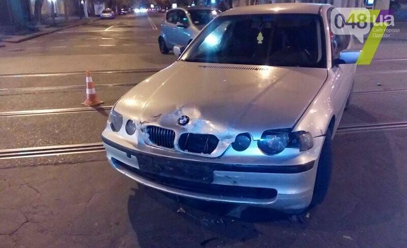 В Одессе индус на BMW сбил развозчика пиццы, фото-1