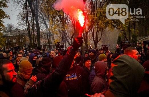 Одесский губернатор пообещал разобраться с радикалами, устроившими погром в Горсаду, фото-1