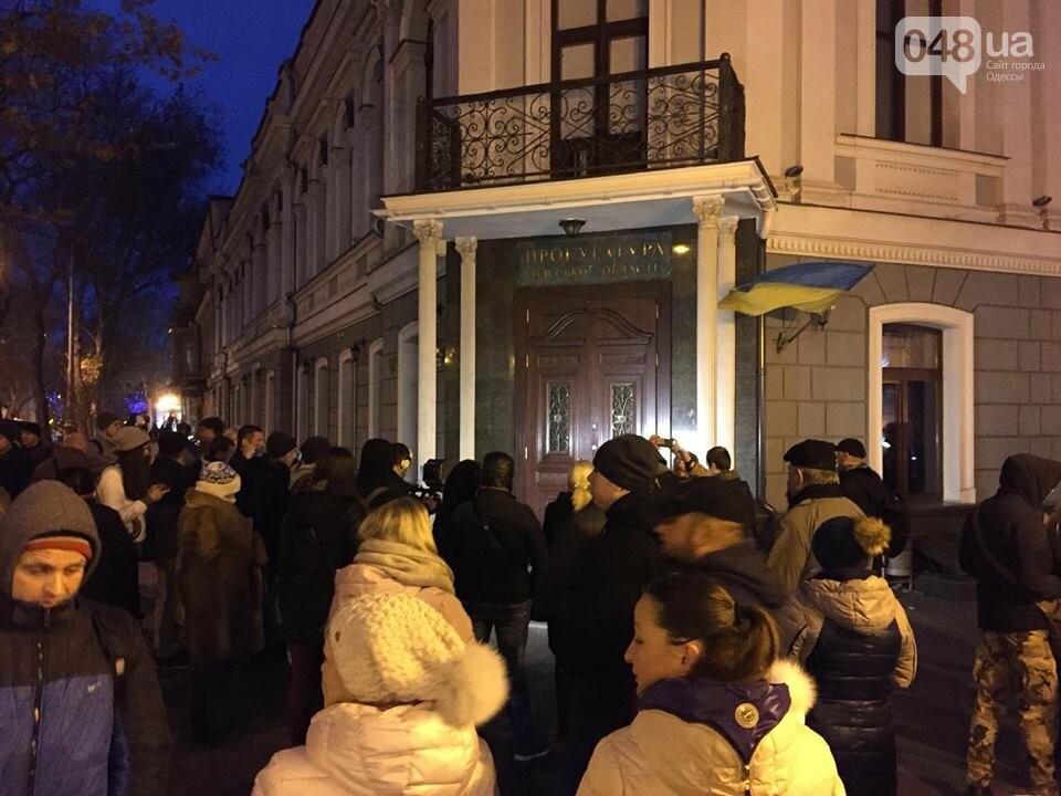 Одесский Майдан собрался досрочно и разбил лагерь у прокуратуры (ФОТО), фото-1