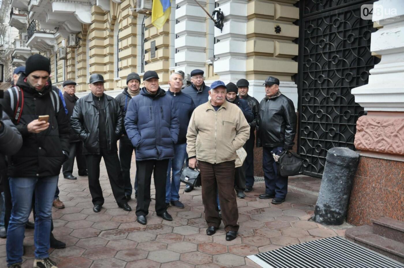 Престарелые провокаторы пытались сорвать акцию против беззакония в Одессе (ФОТО), фото-1