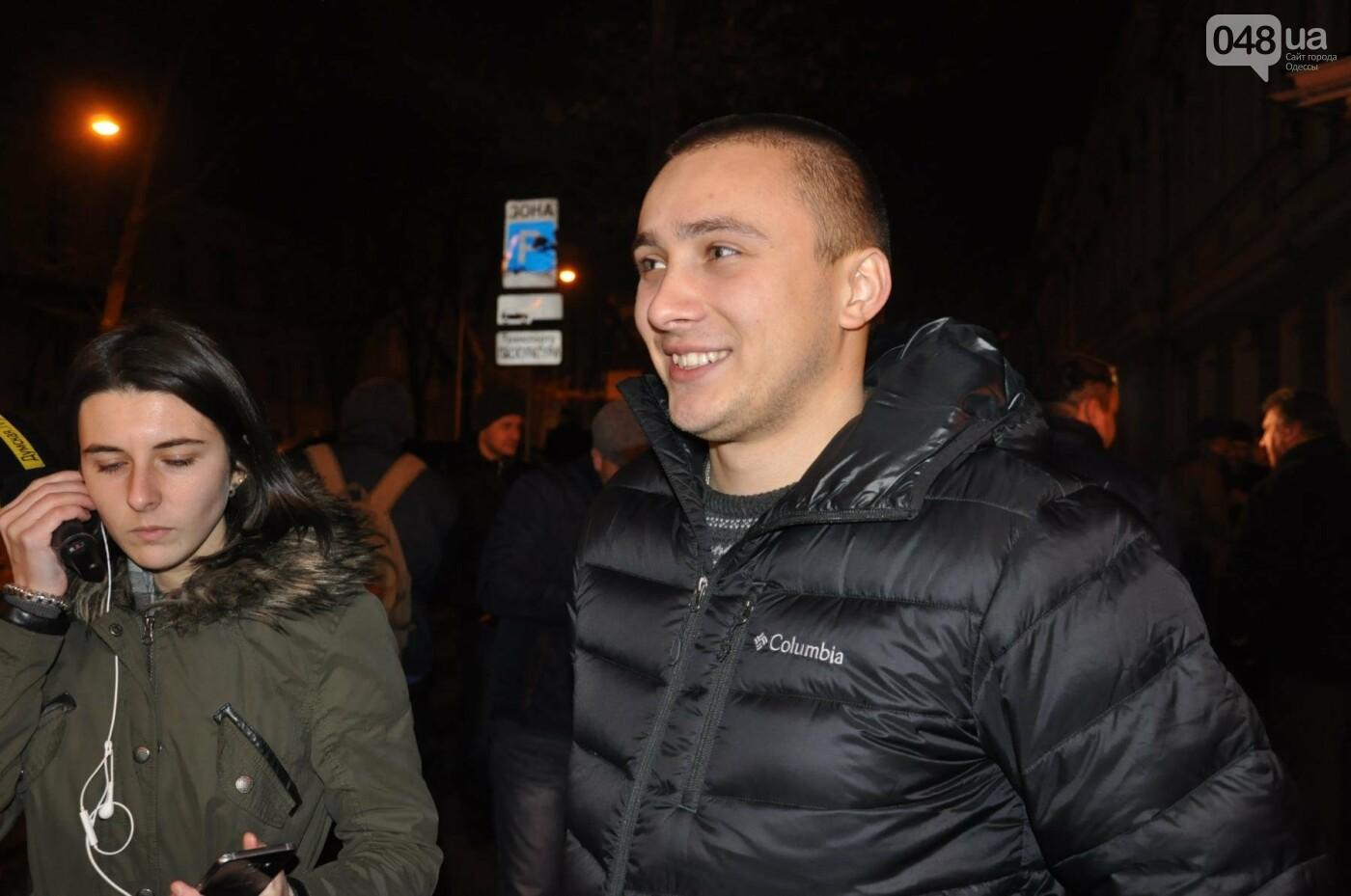 Сергей Стерненко сразу после освобождения приехал под одесскую прокуратуру (ФОТО, ВИДЕО), фото-2
