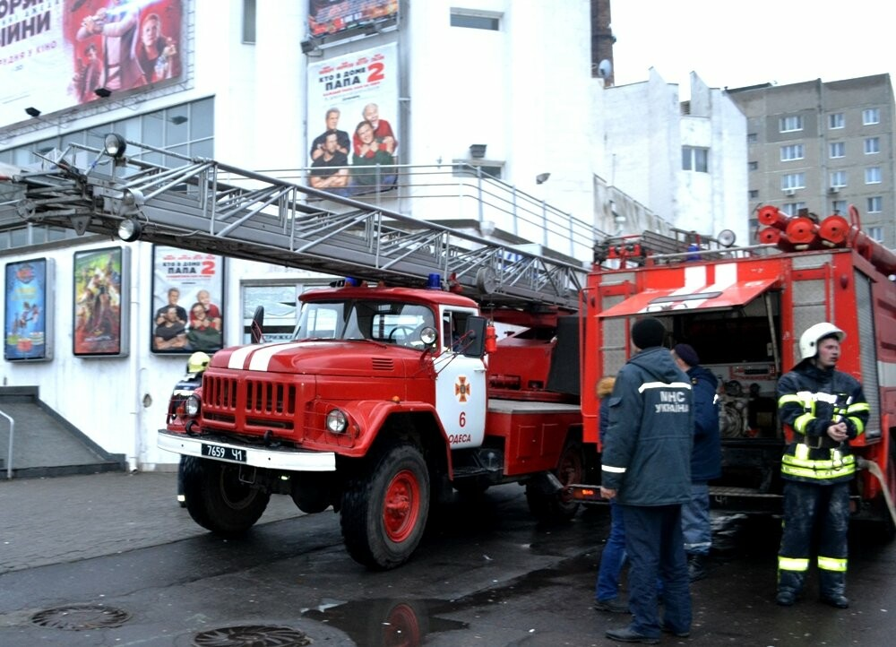 "В Одессе горел супермаркет ""Панорама"" (ФОТО), фото-2"