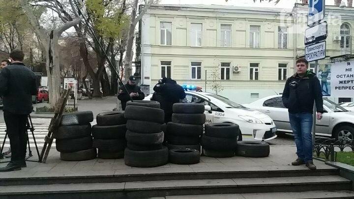 К одесскому Майдану стягивают полицию (ФОТО, ВИДЕО), фото-2