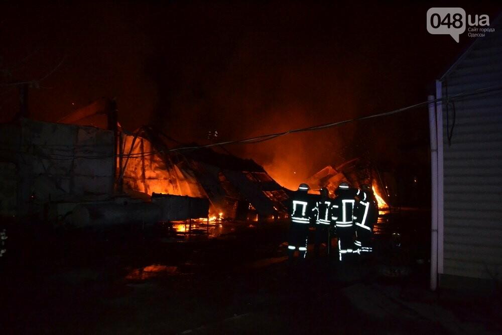 Ядовитый пожар: В Одессе горели два километра бытовой химии (ФОТО), фото-1