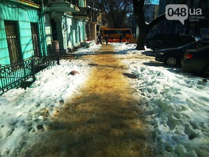 Коммунальный коллапс: В Одессе по льду не добраться даже в поликлиники (ФОТО), фото-2