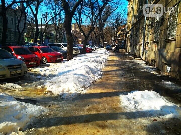 Коммунальный коллапс: В Одессе по льду не добраться даже в поликлиники (ФОТО), фото-4