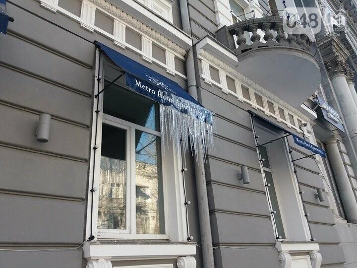 Центр Одессы: грязь, лёд, угрожающие прохожим сосульки (ФОТО, ВИДЕО), фото-25