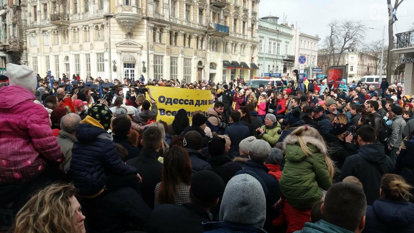 Юморина в разгаре: По Дерибасовской прошел парад-карнавал (ФОТО, ВИДЕО), фото-12