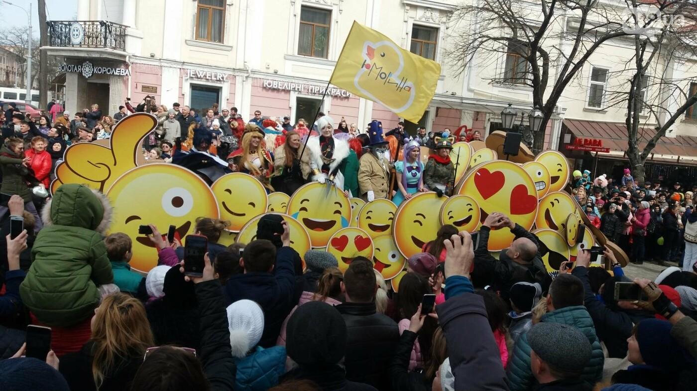 Юморина в разгаре: По Дерибасовской прошел парад-карнавал (ФОТО, ВИДЕО), фото-3