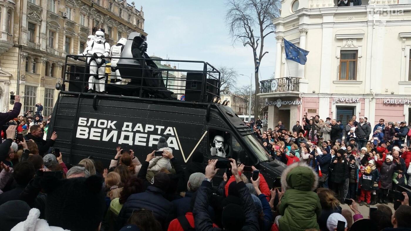 Юморина в разгаре: По Дерибасовской прошел парад-карнавал (ФОТО, ВИДЕО), фото-4