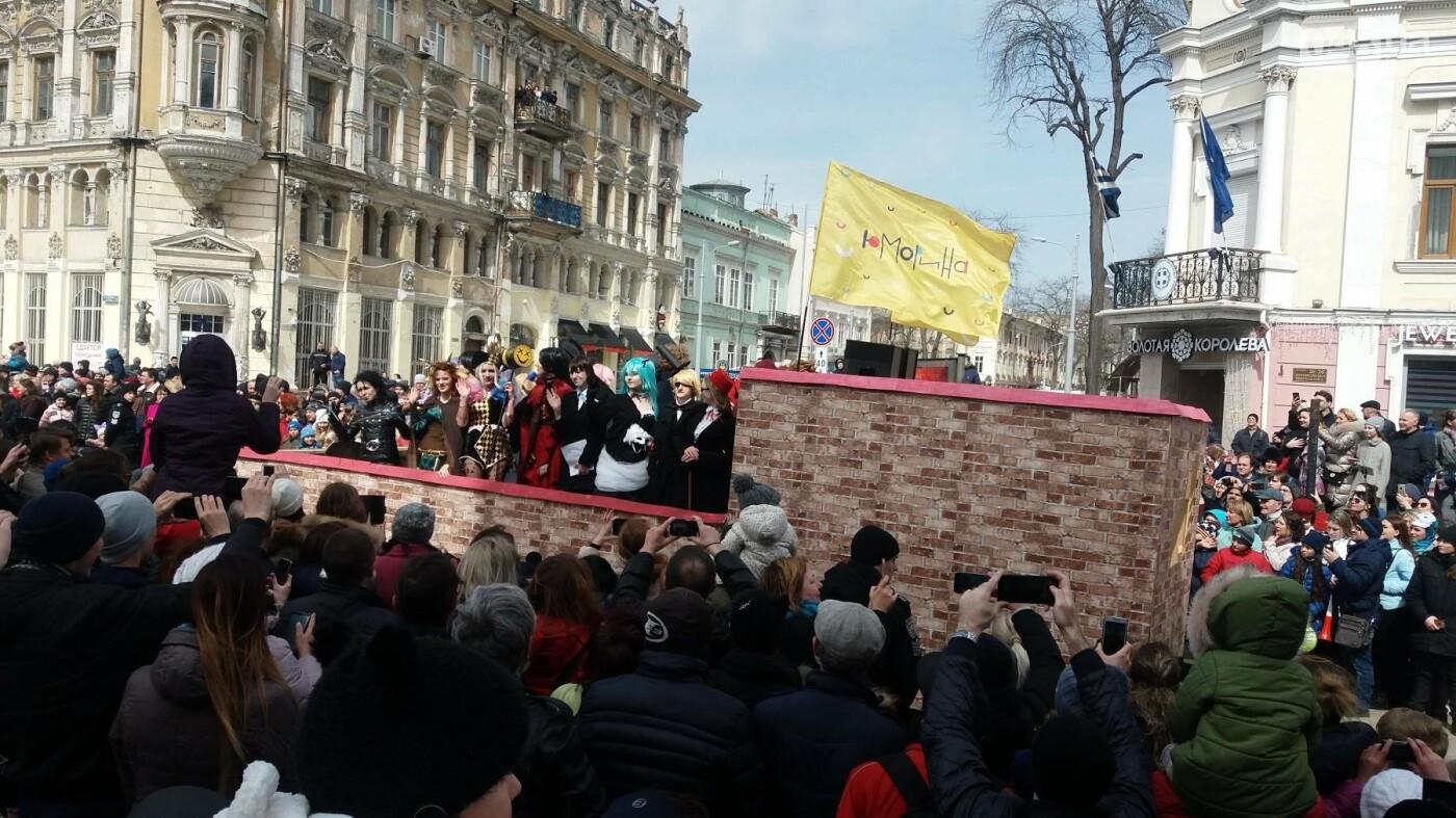 Юморина в разгаре: По Дерибасовской прошел парад-карнавал (ФОТО, ВИДЕО), фото-9