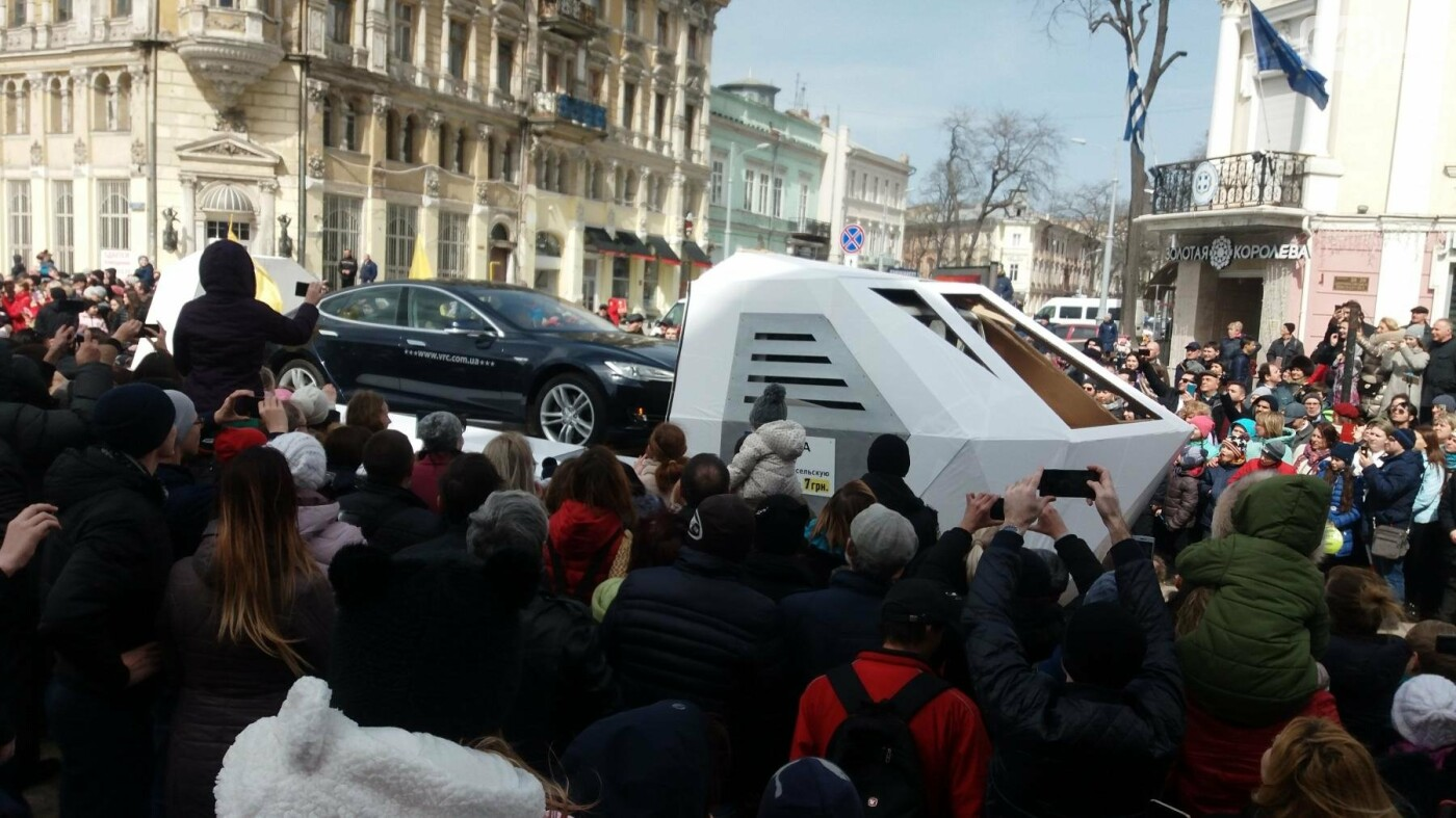 Юморина в разгаре: По Дерибасовской прошел парад-карнавал (ФОТО, ВИДЕО), фото-1