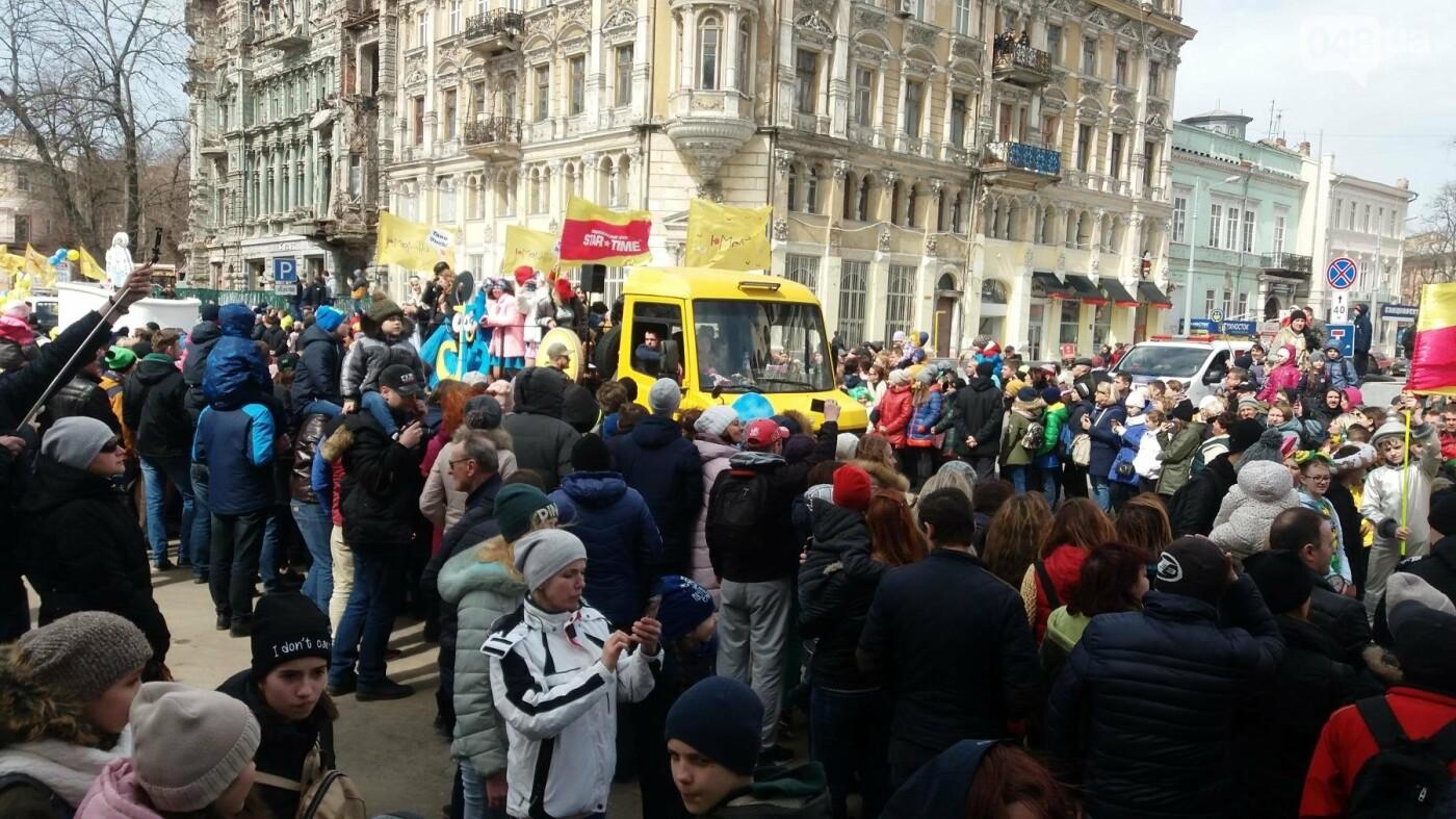 Юморина в разгаре: По Дерибасовской прошел парад-карнавал (ФОТО, ВИДЕО), фото-5